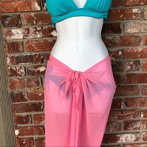 Victoria Secret pink swimsuit coverup pants sz M